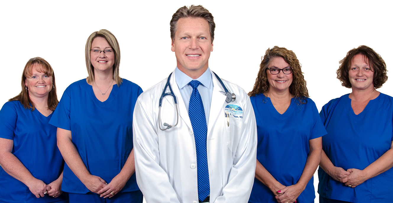Dr. Linehan and his Pain Care staff